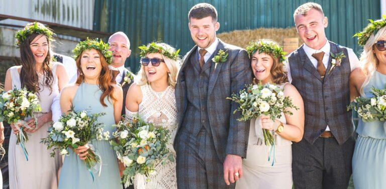 boho wedding lancashire