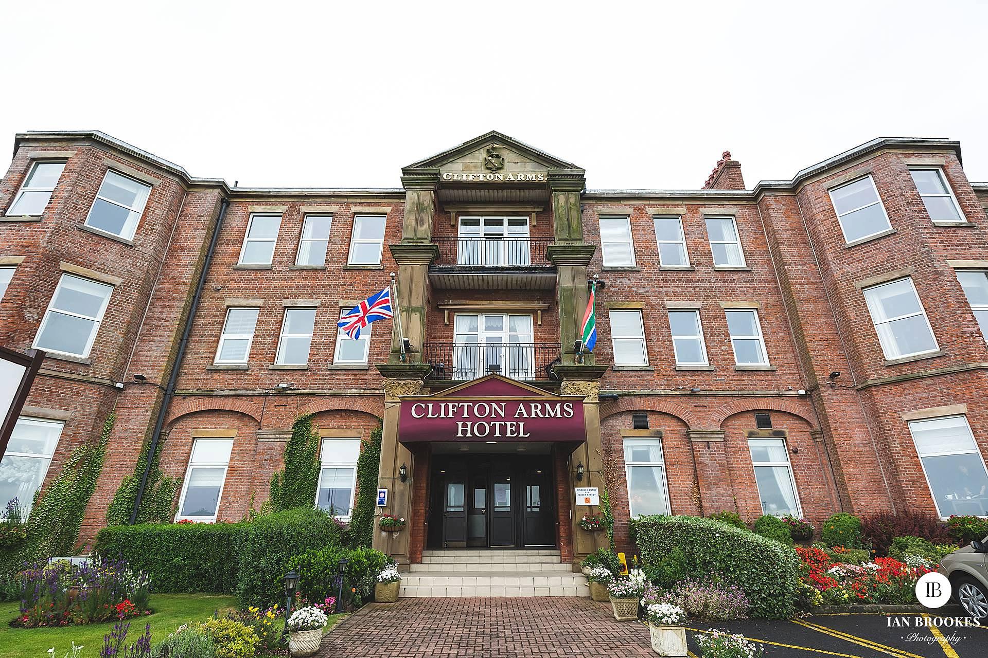 clifton arms hotel wedding