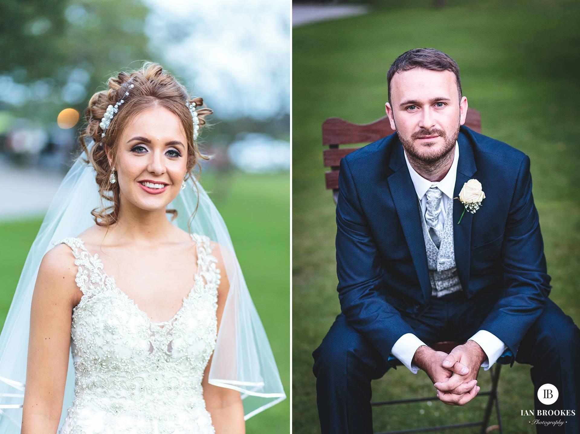 bride and groom portraits singleton lodge