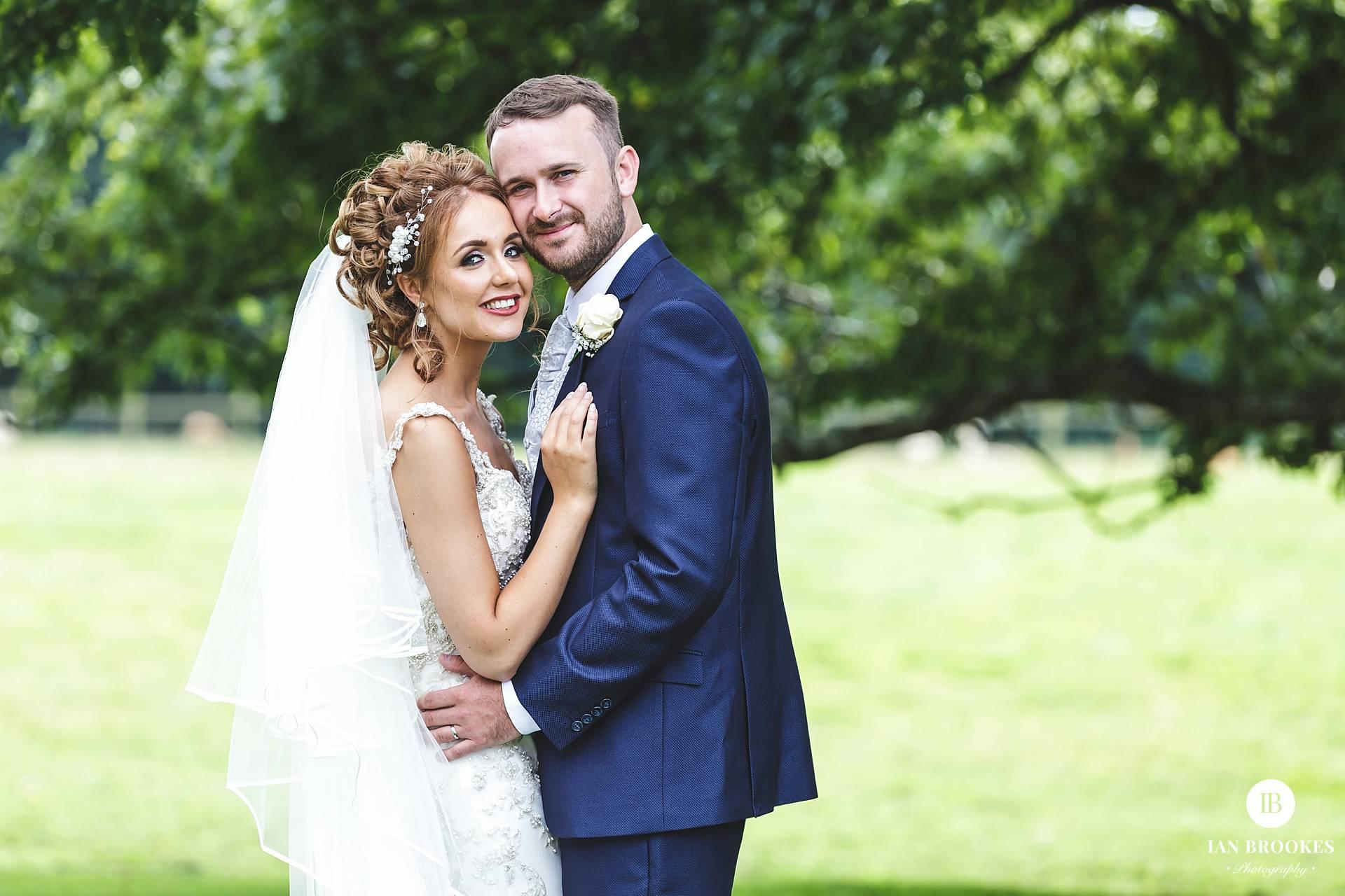bride and groom singleton lodge