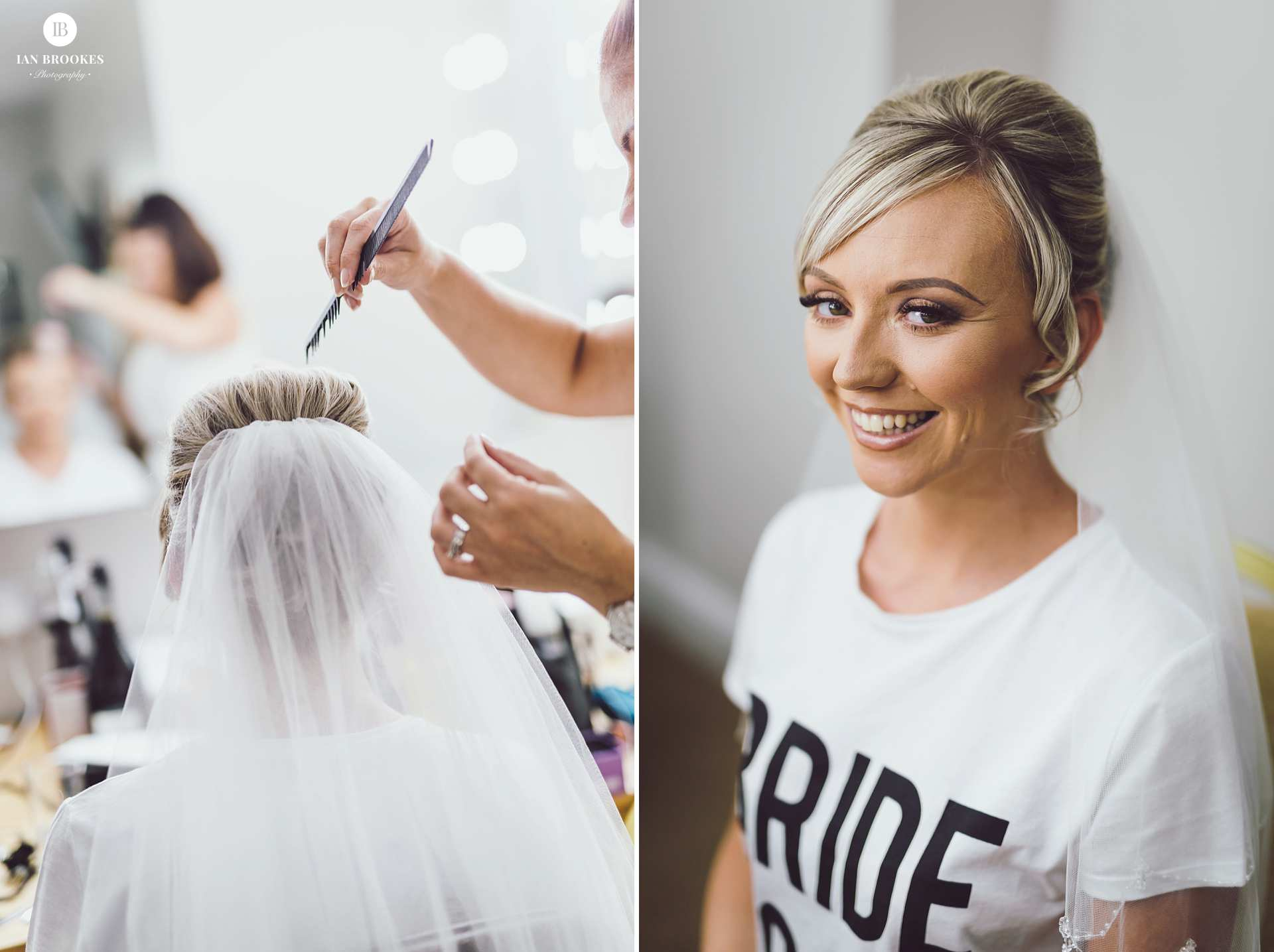 bride prep the villa wrea green
