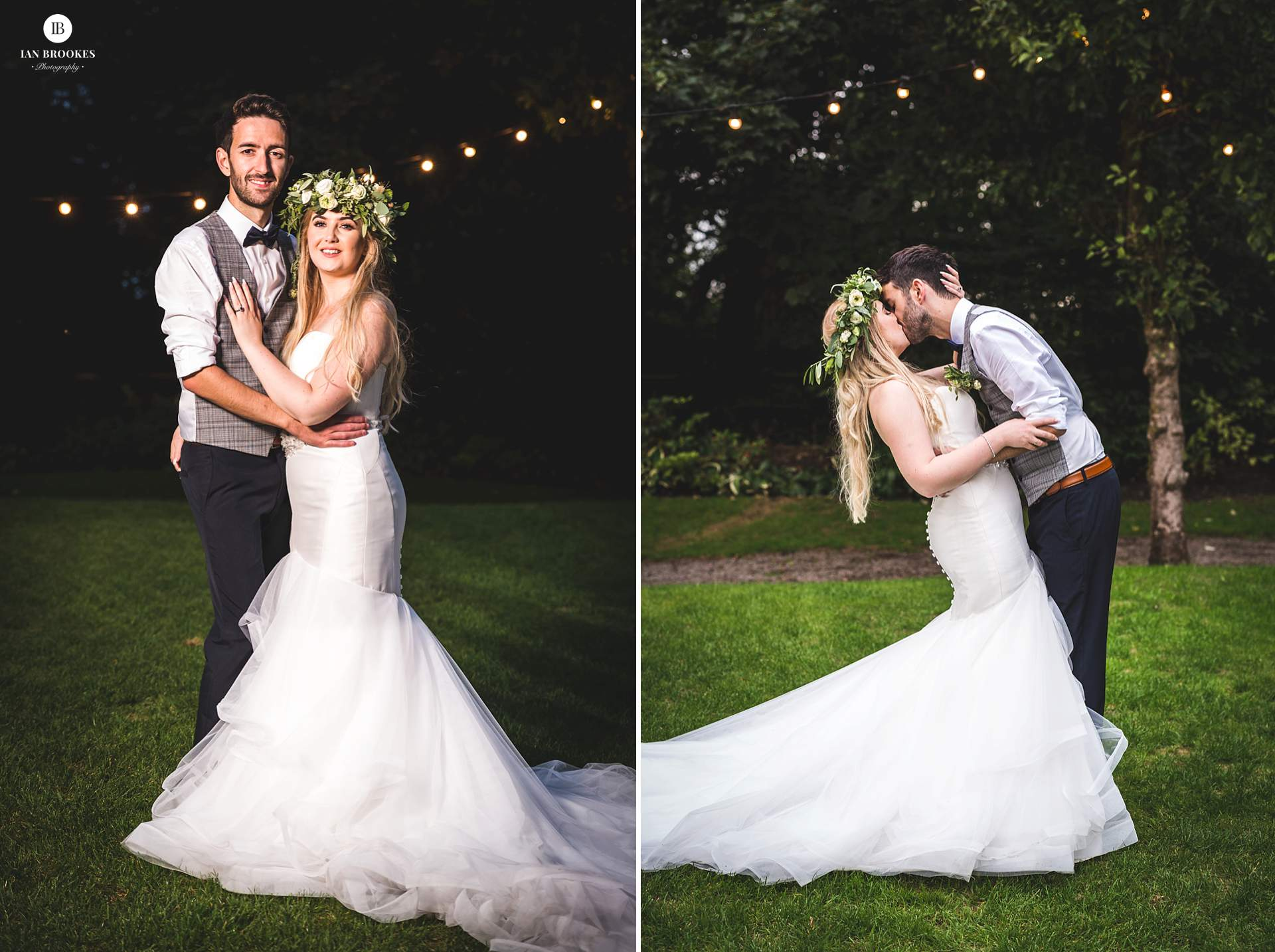 romantic bartle hall wedding