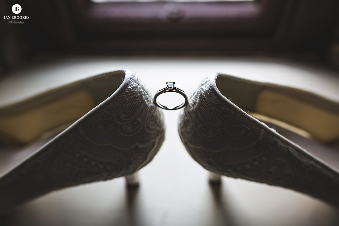 bridal details Browsholme Hall and Tithe Barn