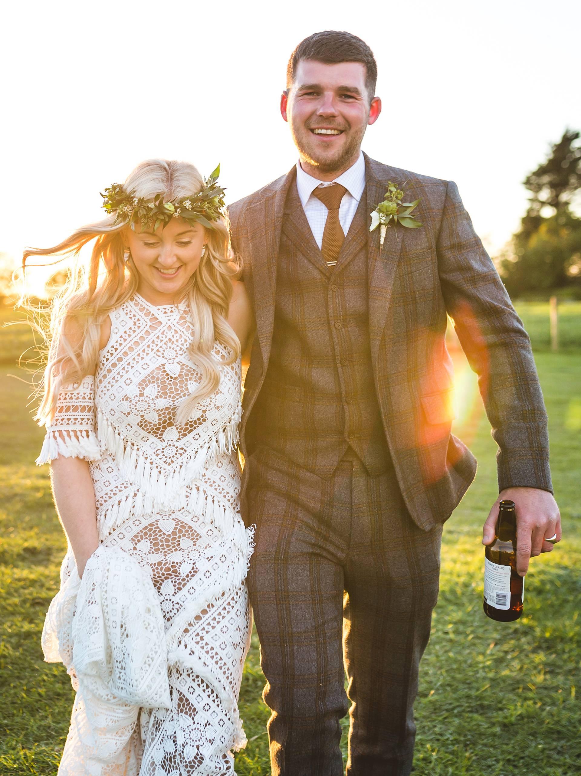 boho lancashire wedding