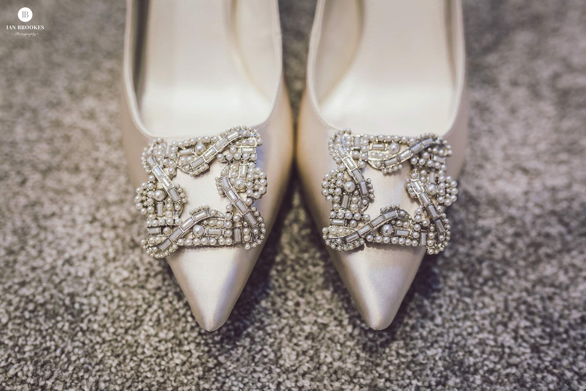 brides shoes the glass house