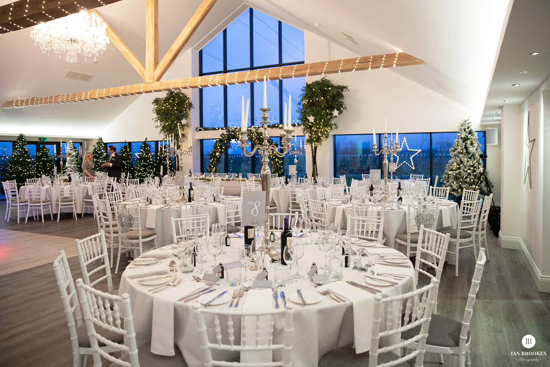 the glass house staining wedding breakfast