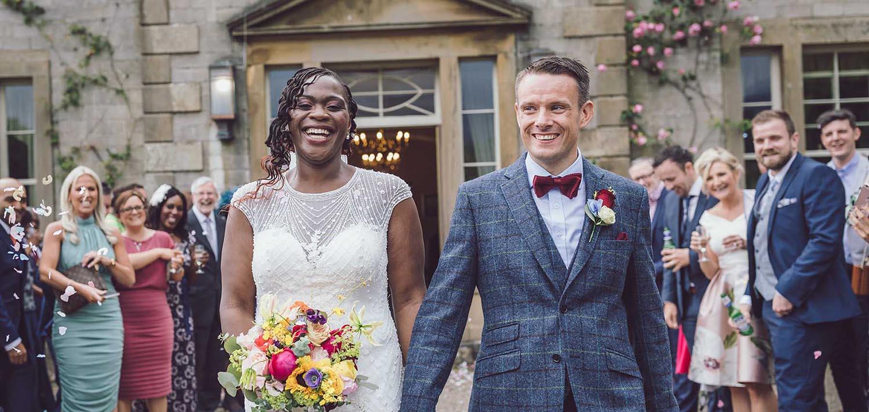 underley grange wedding photos
