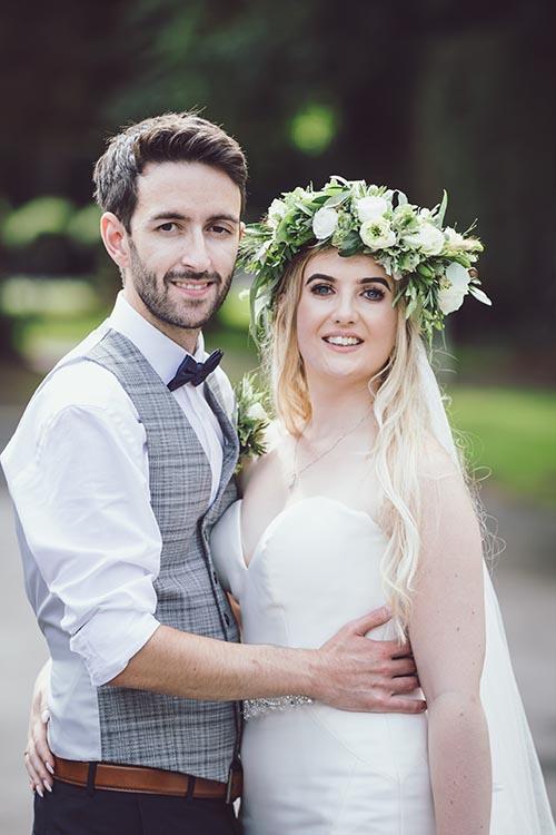 bartle hall bride and groom