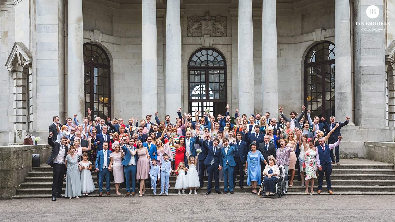 Ashton Memorial weddings group photo