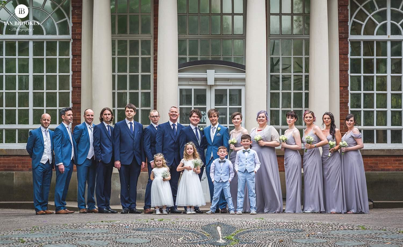 The Ashton Memorial wedding photo