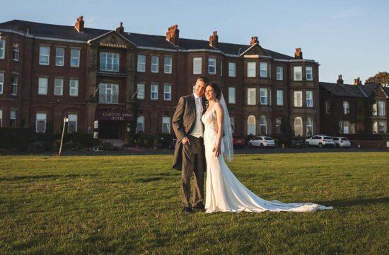clifton arms hotel wedding lytham