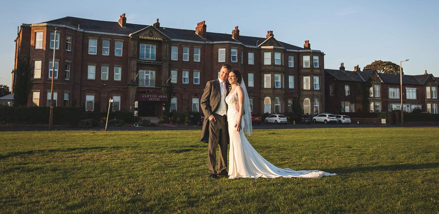 clifton arms hotel wedding lytham